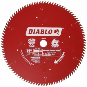 Freud D12100X 100 Tooth Diablo Ultra Fine Circular Saw Blade for fine Woodworking and Wood Composites, 12-Inch (1)