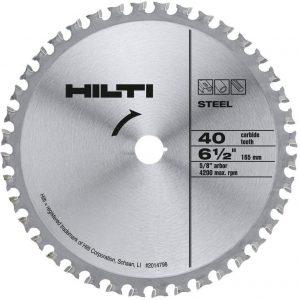 Hilti 2014798 40T SC-C MU 6 1:2-Inch x 5:8-Inch Metal Blade